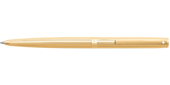 Sheaffer Sagaris Fluted Gold Tone Ballpoint Pen
