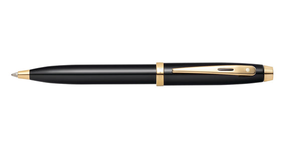 Sheaffer 100 Glossy Black with Gold-Tone Ballpoint Pen