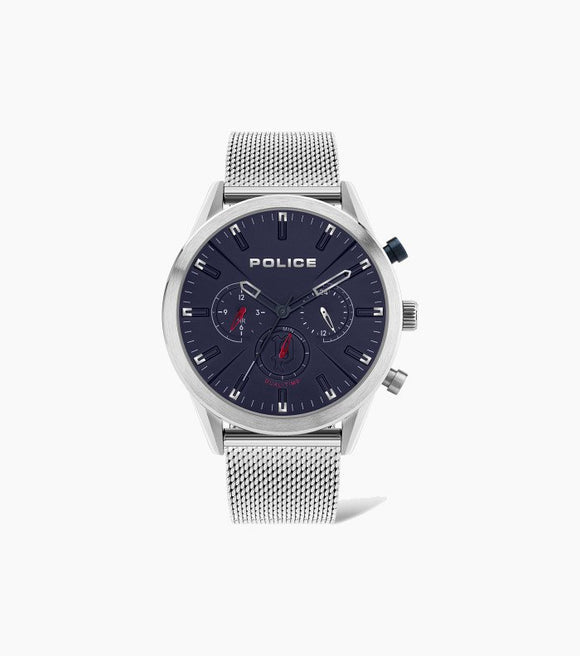Police Gents Silfra Mesh Watch