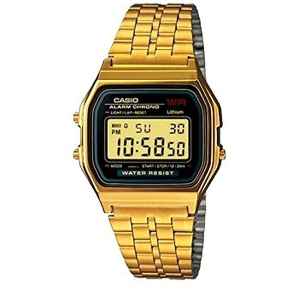 Casio Retro Gold PVD Watch