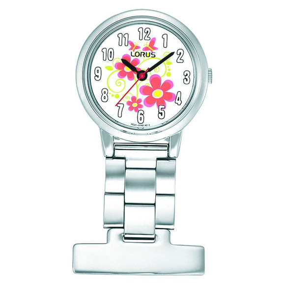 Lorus Flower Fob Watch