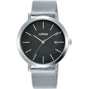 Lorus Gents Mesh Bracelet Watch