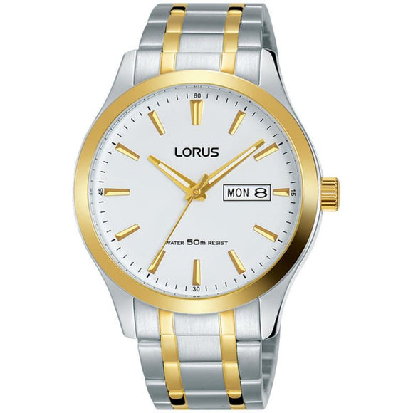 Lorus Gents 2 Tone Bracelet Watch