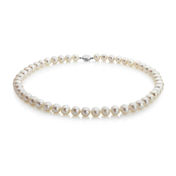 JERSEY PEARL MID-LENGTH, 7.0-7.5MM CLASSIC PEARL NECKLACE