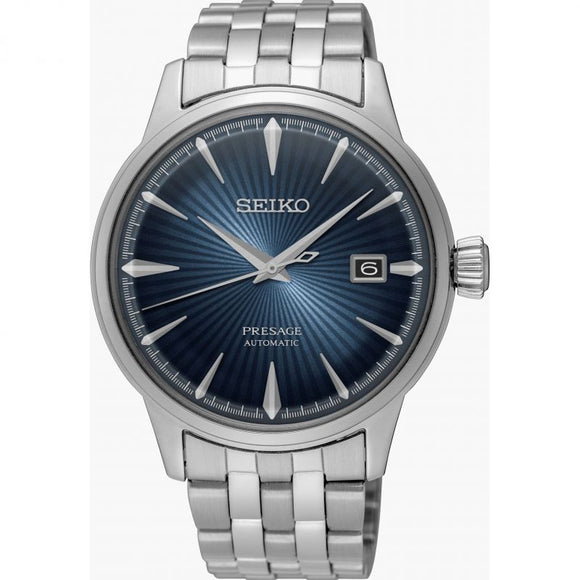 Seiko Gents Presage Automatic S/Steel Bracelet Watch