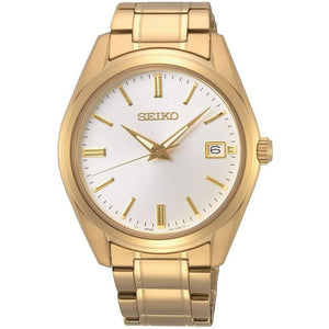 Seiko Gents Gold Plated Bracelet Watch