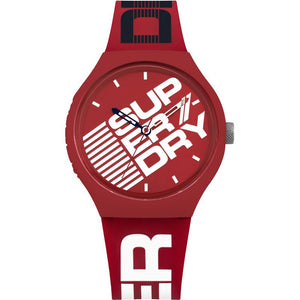 Superdry Red & White Watch