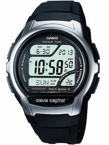 CASIO Collection Wave Ceptor Digital Black Watch