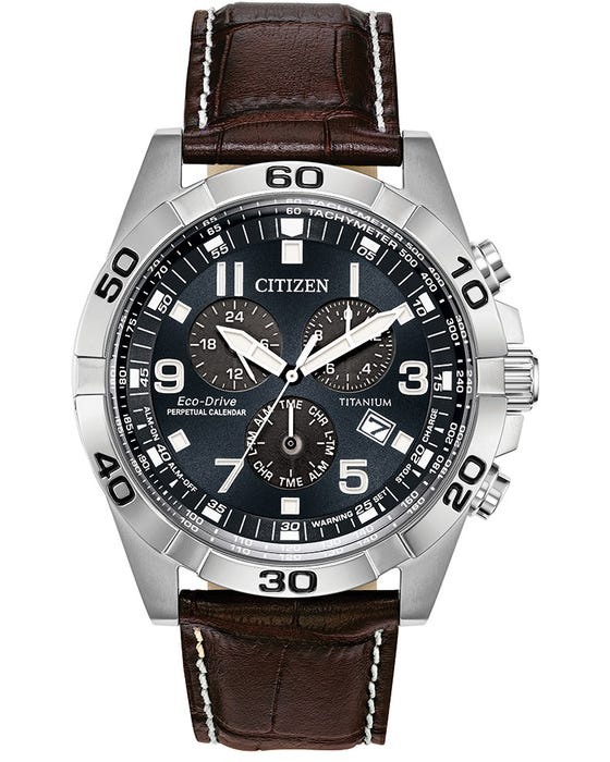 CITIZEN ECO-DRIVE GENTS SUPER TITANIUM