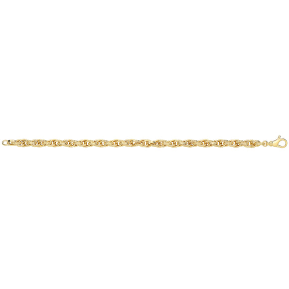 9ct Yellow Gold Ladies Chain