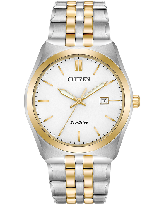 Citizen Gent's Eco Drive Two Colour Bracelet Watch