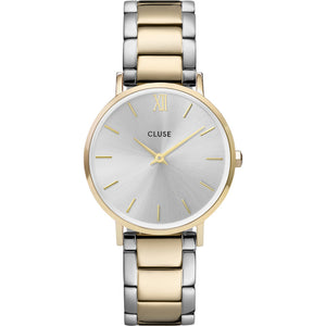 Cluse Minuit Steel Bicolour Watch