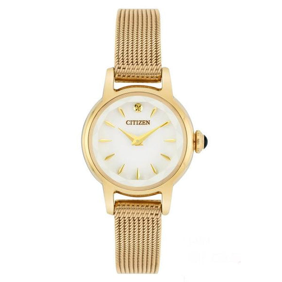 CITIZEN ECO DRIVE LADIES MESH BRACELET WATCH