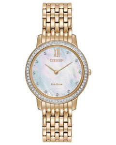 CITIZEN LADIES  Silhouette Crystal