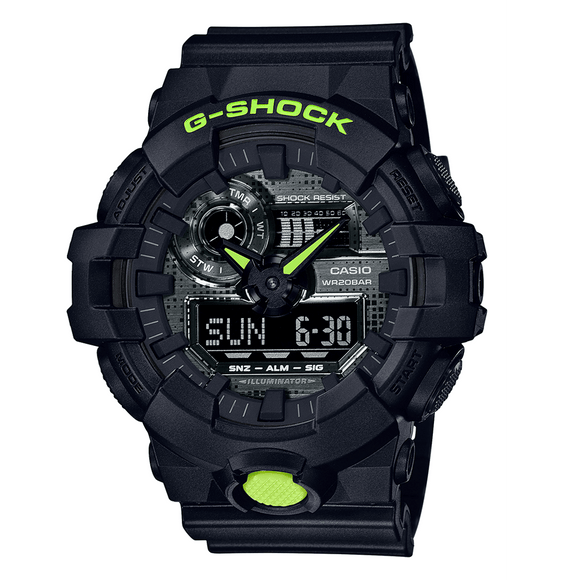 Casio G Shock Digital Annalogue Rubber S/W