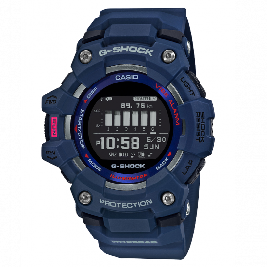 Casio G Shock SQUAD STEP TRACKER
