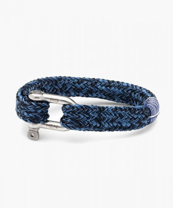 PIG & HEN  GORGEOUS GEORGE NAVY - VIOLET BLUE | SILVER