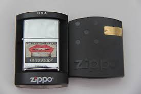 Zippo Guinness No Beer Comes Near Zippo with 250 year Hologram
