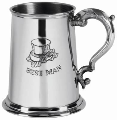 1 Pint Best Man Tankard