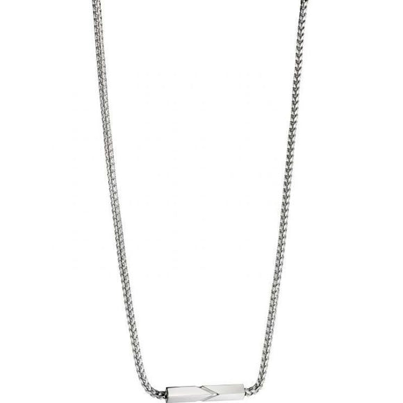 Fred Bennett Gents Stainless Steel Necklace