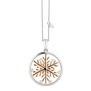 Astra Lucky Snowflake Necklace