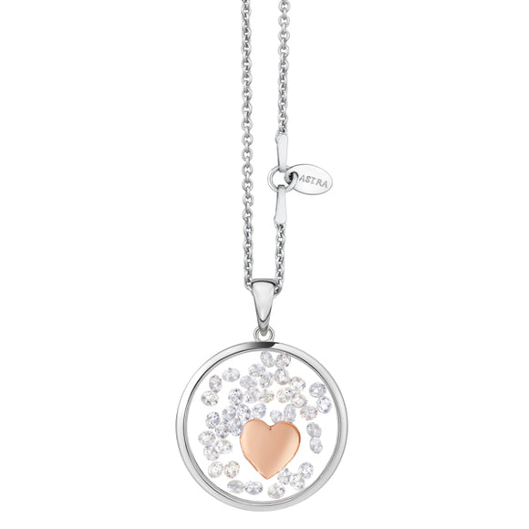 Astra Heart Necklace