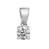 SINGLE STONE DIAMOND PENDANT