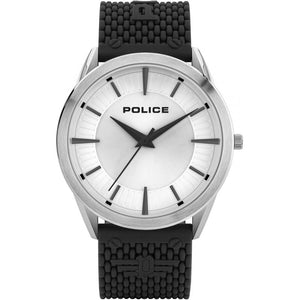 Police Patriot Watch with silicon strap