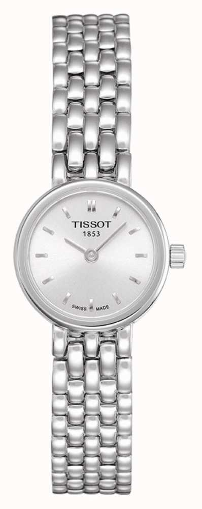 Tissot Ladies Stainless Steel Bracelet Plated Silver Dial