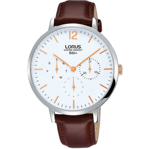 Lorus Ladies Brown Strap Watch