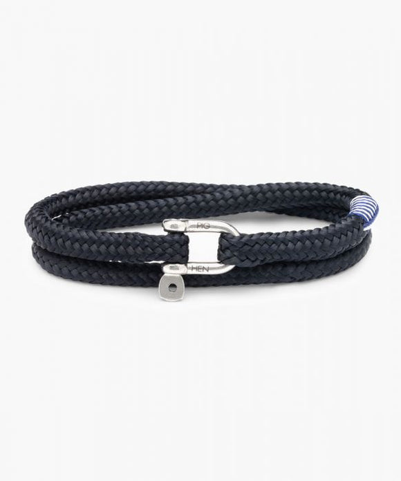 PIG & HEN SALTY SLIM NAVY | SILVER LARGE