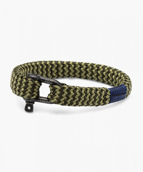 PIG & HEN SHARP SIMON ARMY - REED GREEN | BLACK