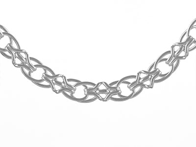 STERLING SILVER 10MM HANDMADE CHAIN