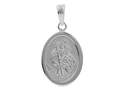 STERLING SILVER ST.CHRISTOPHER