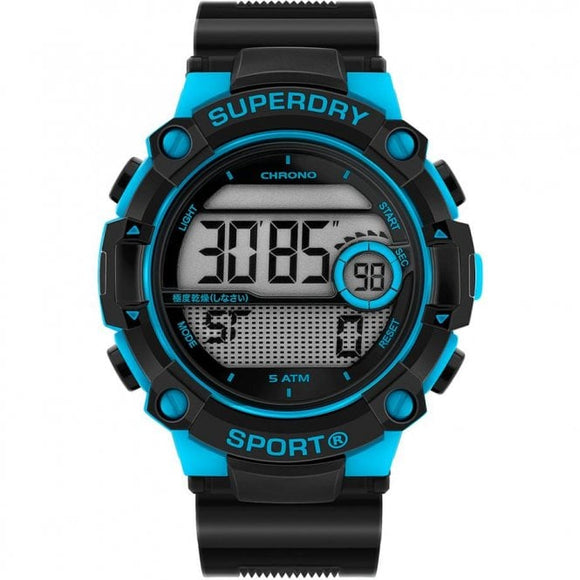 SUPERDRY Men's Radar Sport Strap Watch