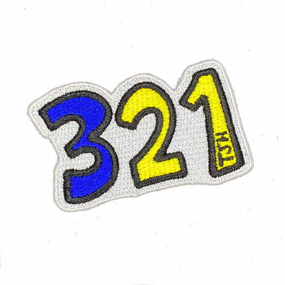 321 Down Syndrome Patch