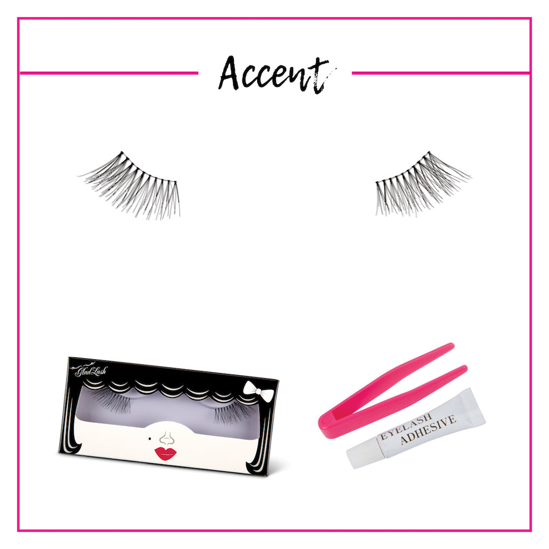 GladGirl False Lash Kit - Accent