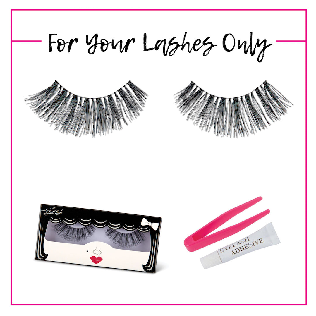 GladGirl False Lash Kit - For Your Lashes Only