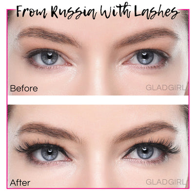 GladGirl False Lash Kit - From Russia with Lashes