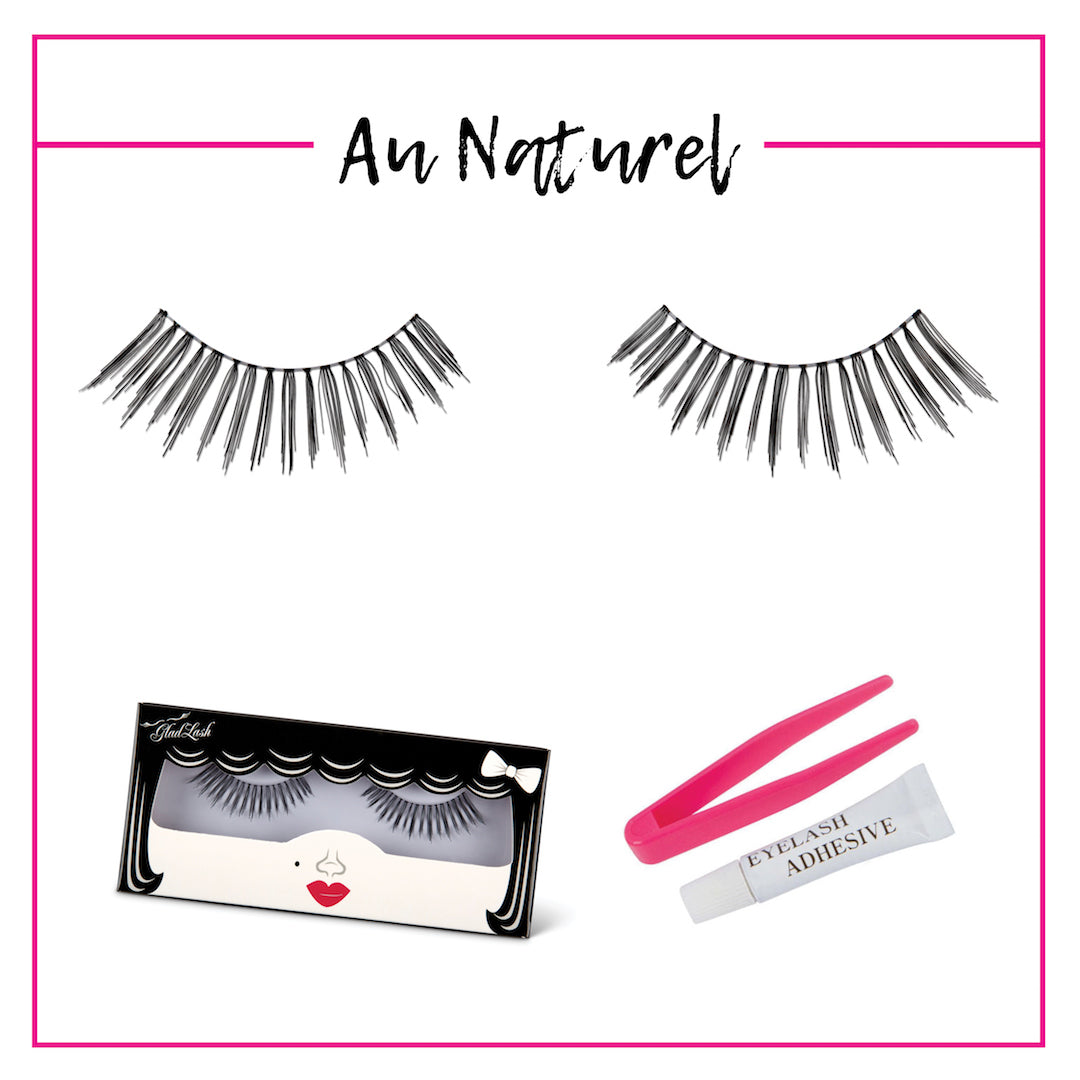 GladGirl False Lash Kit - Au Naturel
