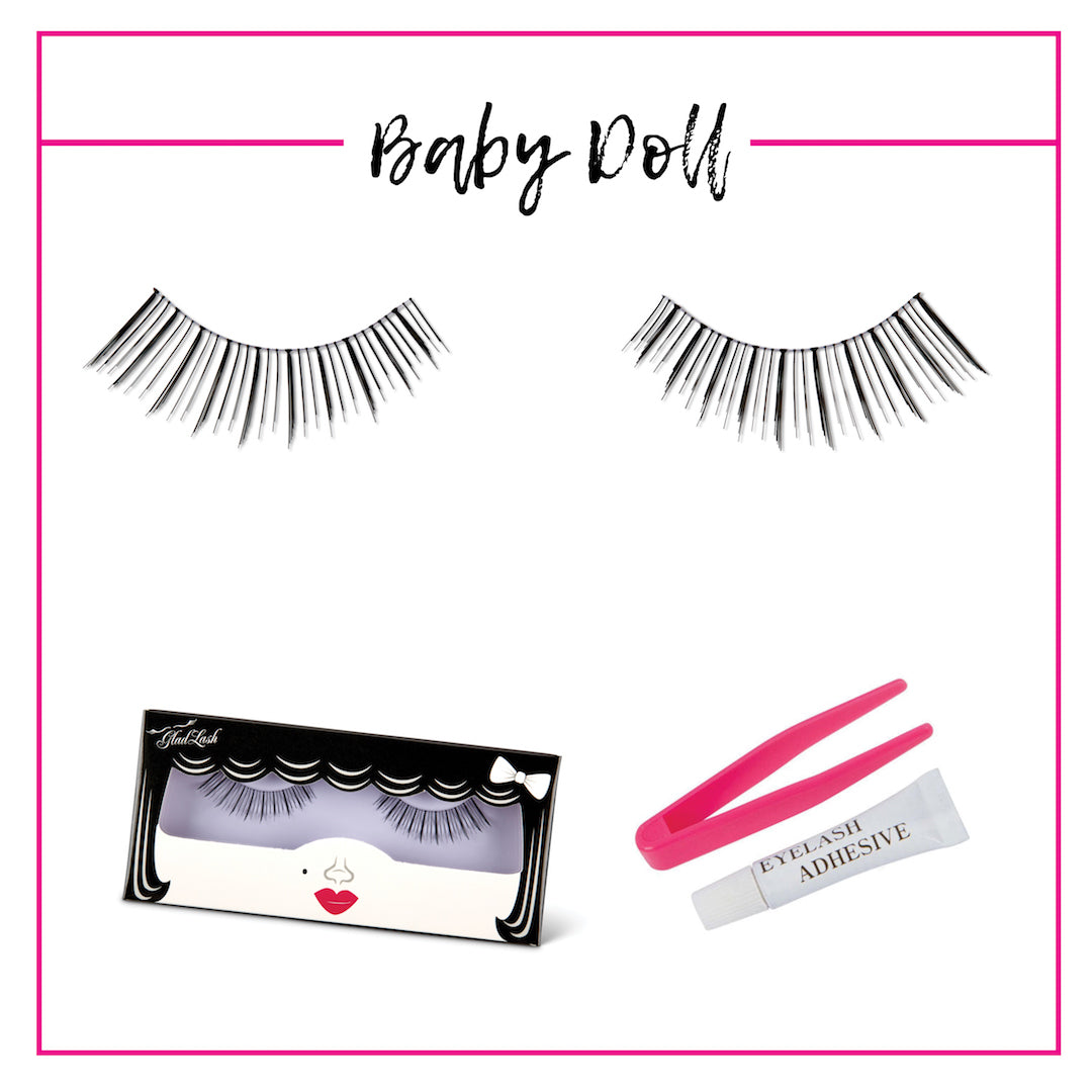 GladGirl False Lash Kit - Baby Doll