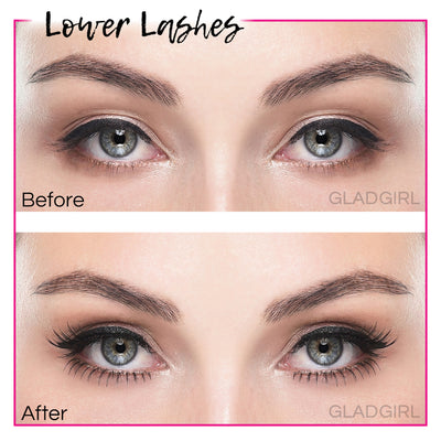 GladGirl False Lash Kit - Lower Lashes