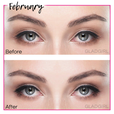 GladGirl False Lash Kit - February