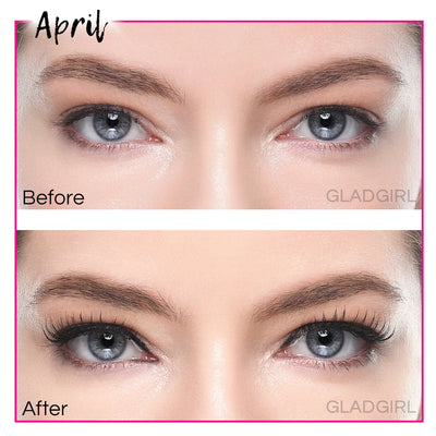 GladGirl False Lash Kit - April