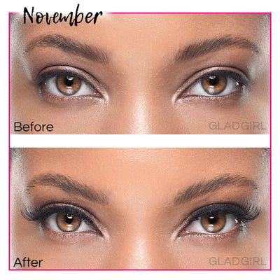 GladGirl False Lash Kit - November
