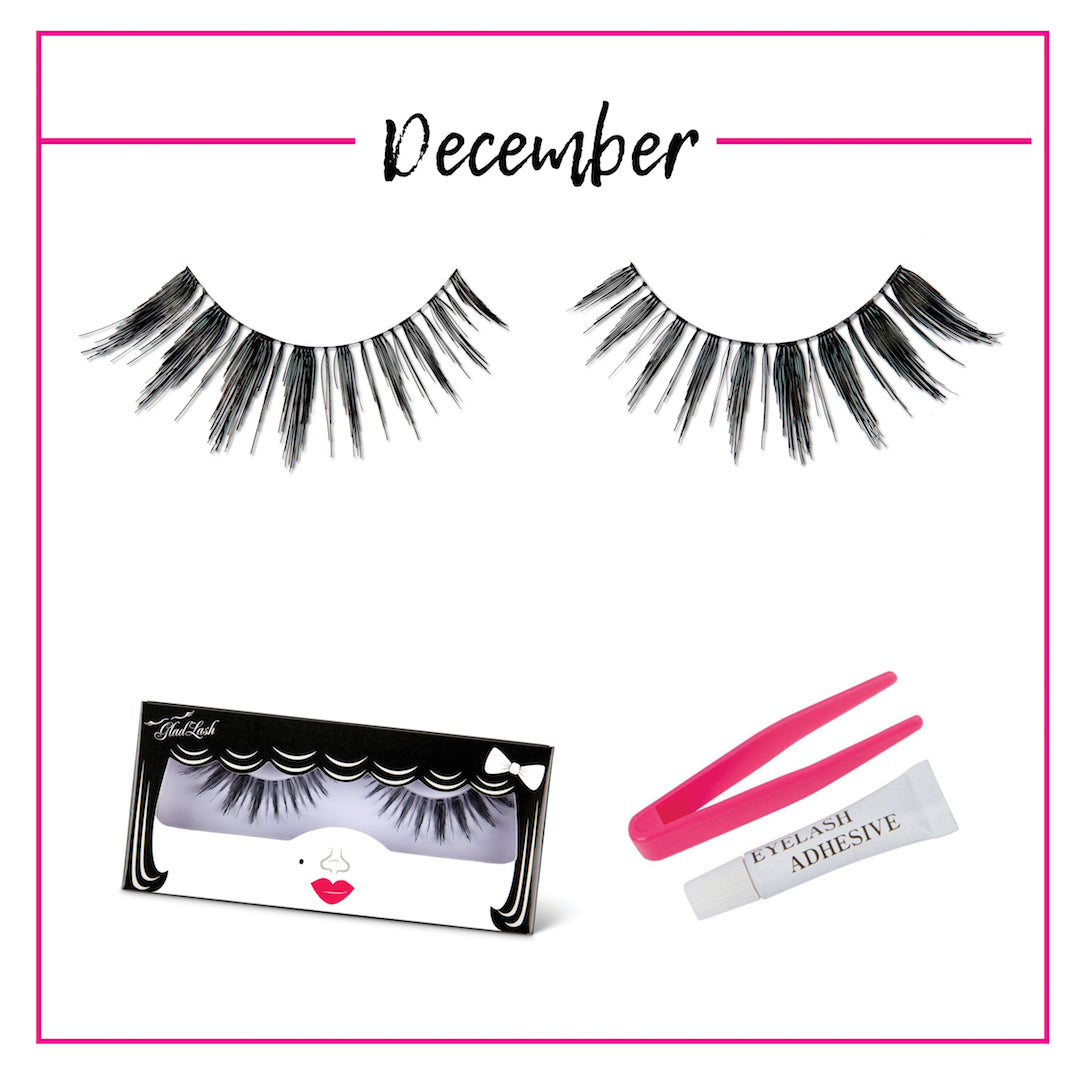 GladGirl False Lash Kit - December