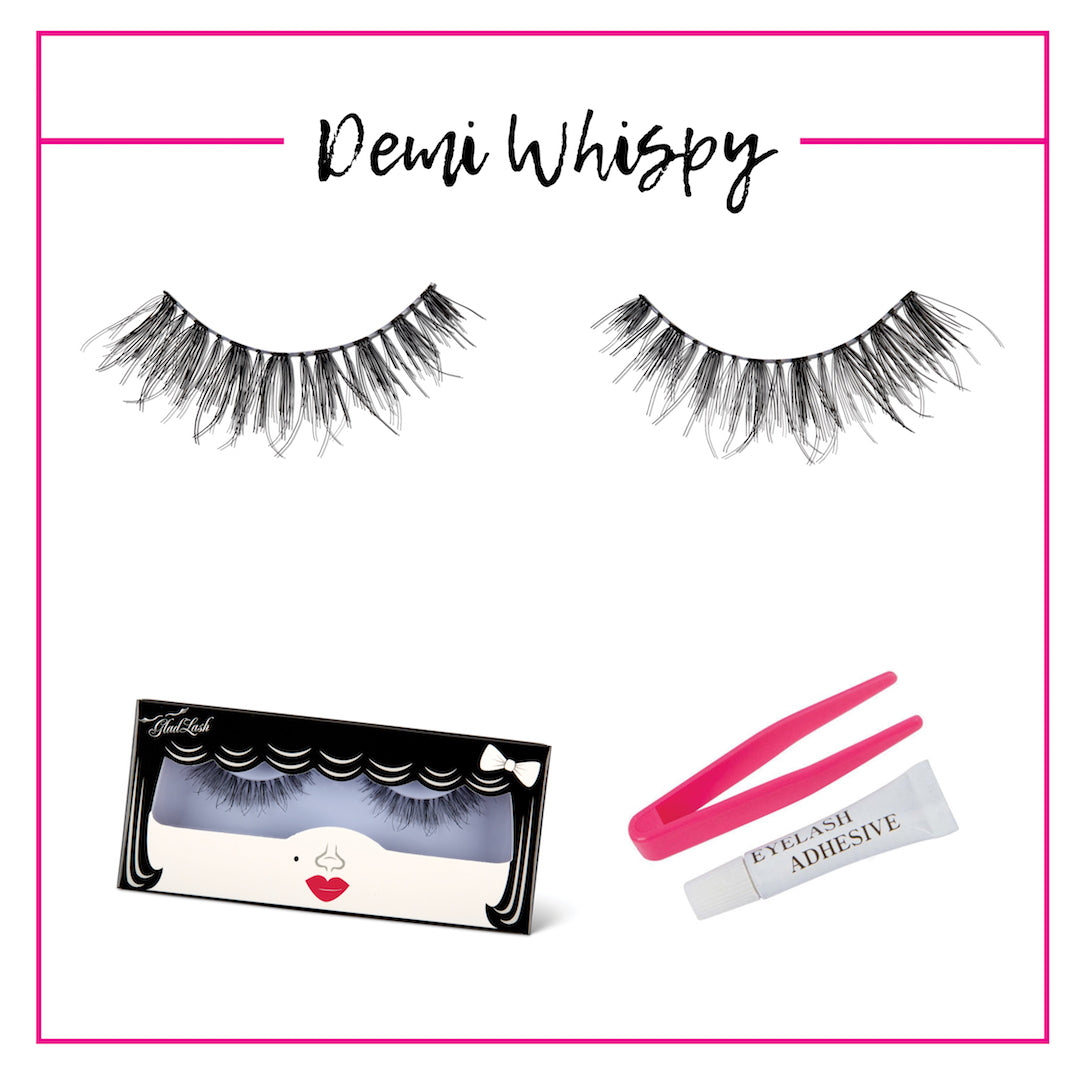 GladGirl False Lash Kit - Demi Whispy