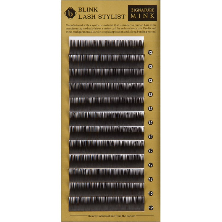 Blink Lashes Signature Mink Extensions - D Curl