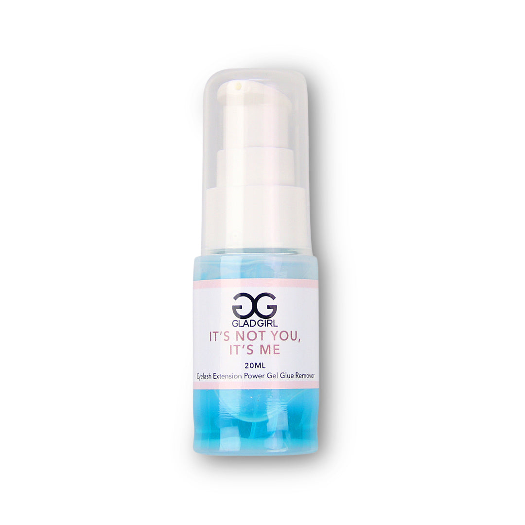 Powerl Gel Glue Remover for Eyelash Extensions by GladGirl