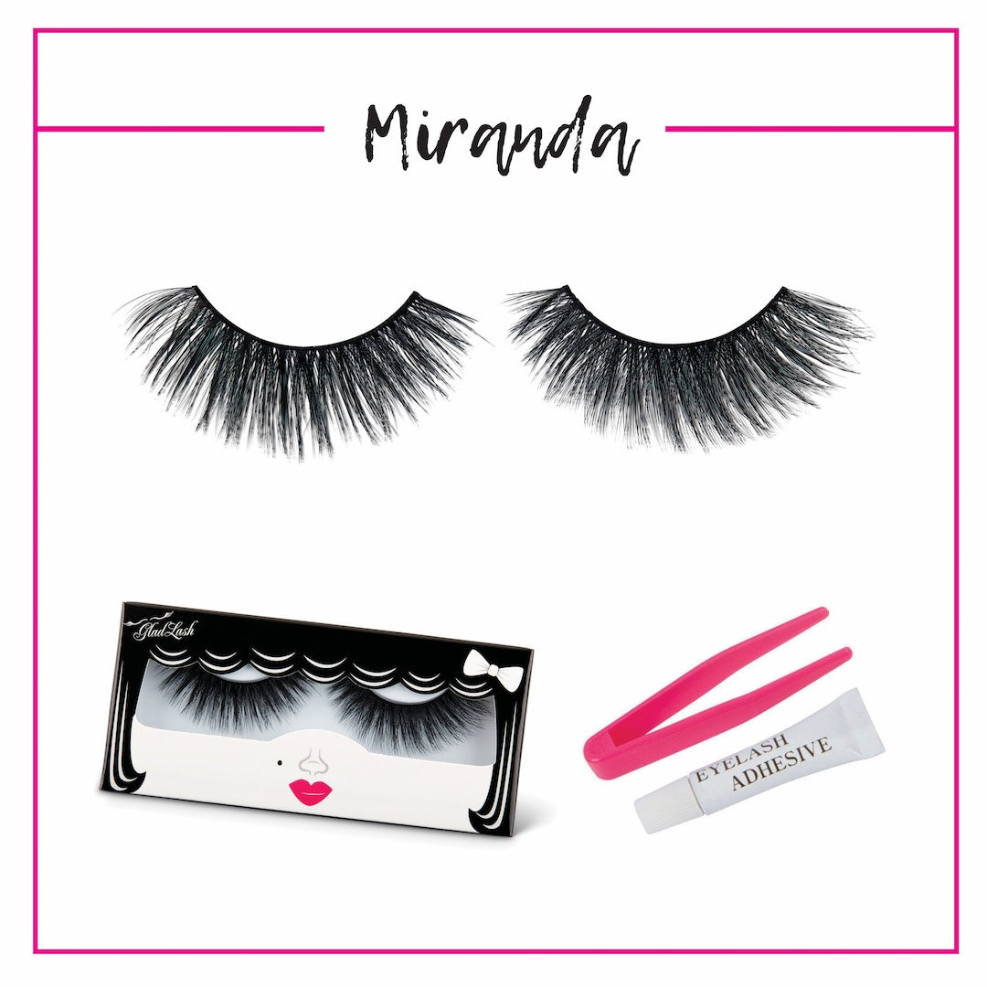 GladGirl 3D False Lash Kit - Miranda